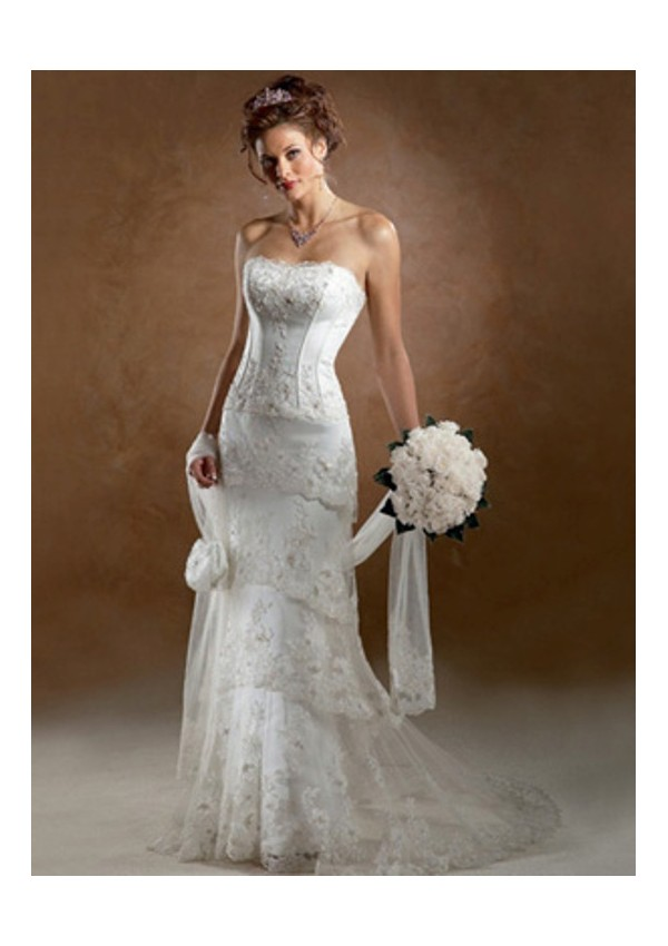 robe de mariee cintre